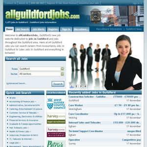 click here to visit All Guildford Jobs website