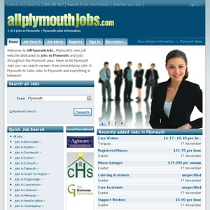 click here to visit All plymouth Jobs website